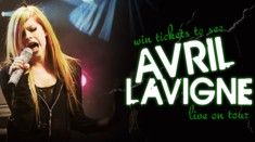 Avril Lavigne tickets competition