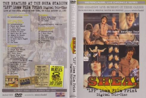 The Beatles Llp 16mm Film Print Shea Stadium Classic Pop Icons
