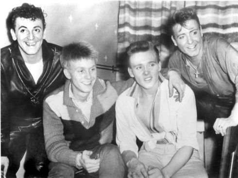 Billy Fury, Eddie Cochran, Gene Vincent and Joe Brown