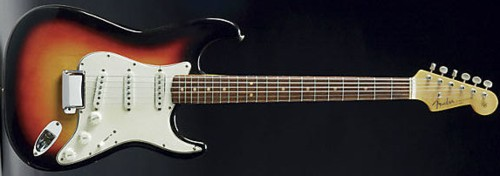 Bob Dylan Fender Stratocaster auction