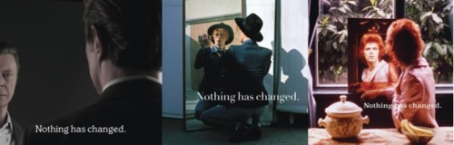 David Bowie Nothing Has Changed album covers