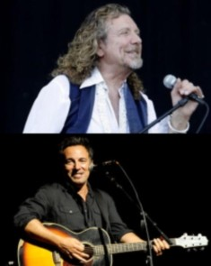 BRIT nominations for Robert Plant and Bruce Springsteen