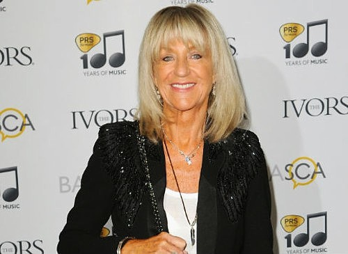Christine McVie receives Ivor Novello lifetime achievement award
