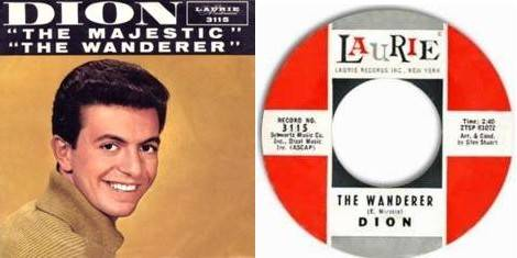 Dion - The Wanderer single