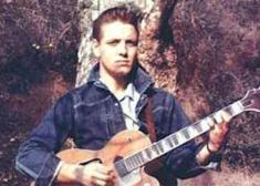 Eddie Cochran with guitar