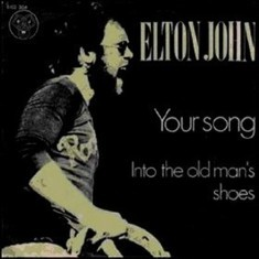 Elton John - Your Song single