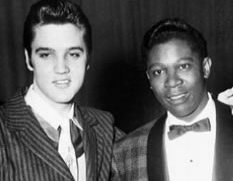 Elvis Presley and B.B King at Ellis Auditorium, December 1956