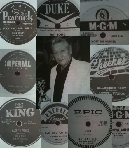 Elvis Presley auction - record collection