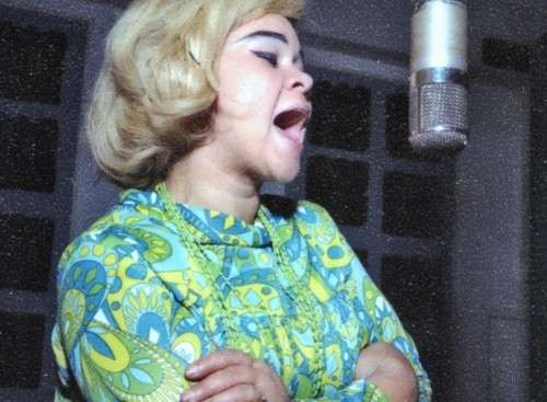 Etta James at FAME Studios, Muscle Shoals
