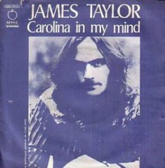 James Taylor Carolina In My Mind single