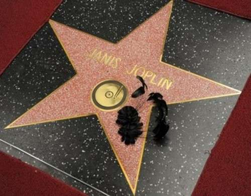 Janis Joplin Hollywood Walk of Fame