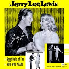 Jerry Lee Lewis - Great Balls of Fire single