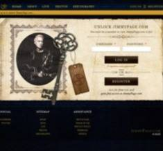 Jimmy Page official website