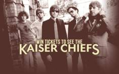 Kaiser Chiefs tickets competition