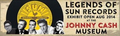 The Legends of Sun Records exhibit