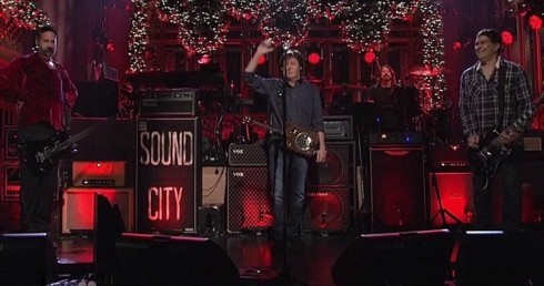 Paul McCartney and Nirvana on Saturday Night Live