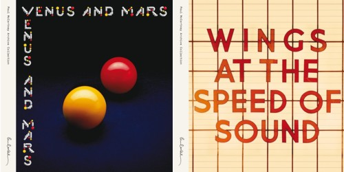 Venus and Mars and Wings at the Speed of Sound reissues