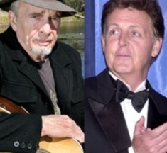 Paul McCartney and Merle Haggard Kennedy Center award