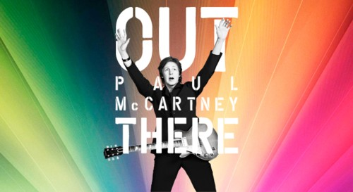 Paul McCartney Out There European tour