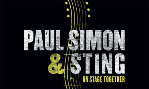 Paul Simon and Sting On Stage Together tour