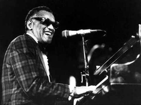 Ray Charles at piano