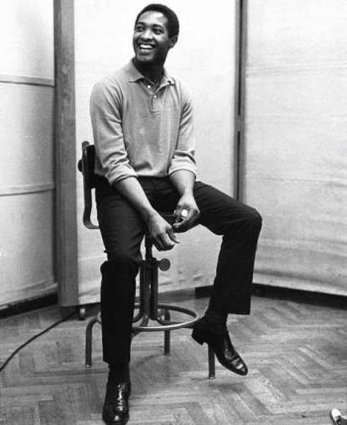 Sam Cooke in studio