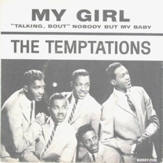 The Temptations My Girl single