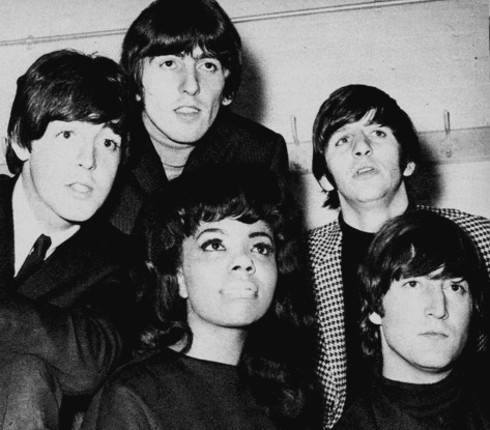 Mary Wells with The Beatles