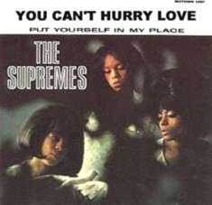 The Supremes - You Can't Hurry Love single