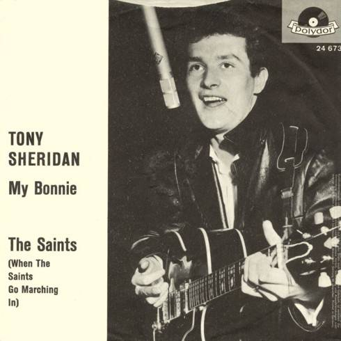 Tony Sheridan - My Bonnie single